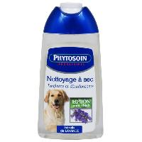 Shampoing - Apres-shampoing - Conditionneur - Masque lotion nettoyage a sec 250 ml chiens
