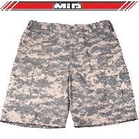 Short - Bermuda Short Bermuda - Combat Urbain - L - Camouflage Pixel Generique