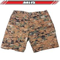 Short - Bermuda Short Bermuda - Combat de la Jungle - L - Camouflage Pixel Generique