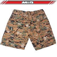 Short - Bermuda Short Bermuda - Combat de la Jungle - XL - Camouflage Pixel - MID