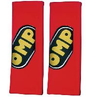 Sieges & harnais 2 Fourreaux de Protection Epaule 3 pouces - Rouge - Petit Velours OMP