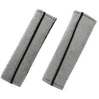 Sieges & harnais 2 Fourreaux gris de ceinture de securite Carplus