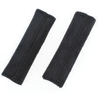 Sieges & harnais 2 Fourreaux noirs de ceinture de securite Carplus