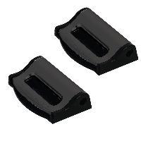 Sieges & harnais 2 Pinces compatible avec ceinture de securite - Noir