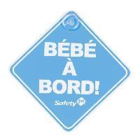 Signaletique Bebe A Bord SAFETY 1ST Bebe a Bord Bleu