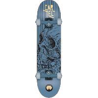 Skateboard - Shortboard - Longboard - Pack CARTEL Skateboard 7.8 - Mixte - Bleu metallise