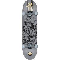 Skateboard - Shortboard - Longboard - Pack CARTEL Skateboard 7.8 - Mixte - Gris argente