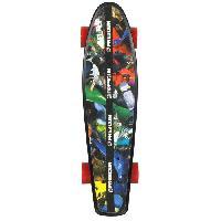 Skateboard - Shortboard - Longboard - Pack FREEGUN Skateboard Vintage Pic 22.5''