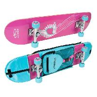 Skateboard - Shortboard - Longboard - Pack Hudora - Skateboard Wonders avec sac de transport