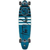 Skateboard - Shortboard - Longboard - Pack WAVE Skateboard 40 Longskate Striper Complete F0000 - Bleu