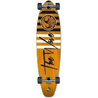 Skateboard - Shortboard - Longboard - Pack WAVE Skateboard 40 Longskate Striper Complete L0000 - Orange