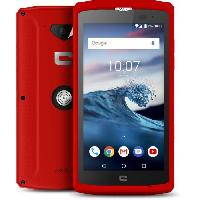 Smartphone - Mobile CROSSCALL Core X3 Rouge 16Go + CROSCALL X-WAVE Offert