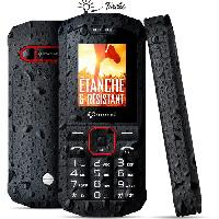 Smartphone - Mobile Crosscall Spider- X1 Noir Anti-Choc