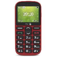 Smartphone - Mobile DORO 1360 Rouge (2G)