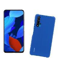 Smartphone - Mobile HUAWEI Smartphone Nova 5T Noir + PC Coque Bleu