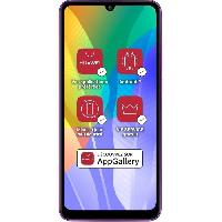 Smartphone - Mobile HUAWEI Y6p Phantom Purple 64 Go