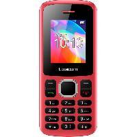 Smartphone - Mobile LOGICOM Le Posh Feature Phone Rouge blister 32 Mo