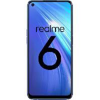 Smartphone - Mobile REALME 6 Comet blue 128 Go - RAM 4 Go EU