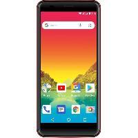Smartphone - Mobile Smartphone Logicom Le Hola FR Rouge 8GO