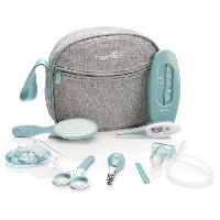 Soin Bebe Babymoov Trousse de soin pour bébé. 9 Accessoires. avec Thermometre Digital. Bleue