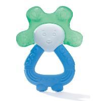 Soin Bebe DODIE Anneau de dentition réfrigéré 2 en 1 - Bleu/Vert