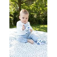 Soin Bebe NUBY Chaussettes de dentition - Gris - 3 mois +