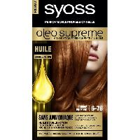 Soin Des Cils - Sourcils - Coloration SAINT ALGUE SYOSS Coloration permanente - Oleo Supreme 6-76 - Cuivre Profond