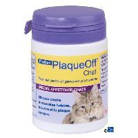 Soin Specifique PLAQUE OFF Poudre hygiene dentaire - Pour chat - 40 g