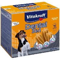 Soin Specifique VITAKRAFT Multipack Dental 3 en 1 S P-4 - Pour chien