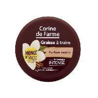Solaires CORINE DE FARME Graisse a traire au Monoi de Tahiti bronzage intense - Parfum Vanille - 150 ml