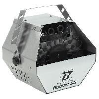 Sono - Dj BOOMTONEDJ BUBBLE 60 V2 - Machine a bulles - 16 anneaux a bulles rotatifs - Produit des centaines de bulles par minute