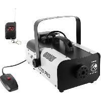 Sono - Dj BOOMTONEDJ F1000 PRO - Machine a fumée 1000W - Débit 150m3 - Télécommande filaire et HF incluses - Compacte