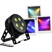Sono - Dj BOOMTONEDJ SILENTPAR - PAR a LED 5x3W 3-en-1 (RGB)  - Aucun bruit de ventilation - Mélange de couleurs grâce a ses LED 3 en 1