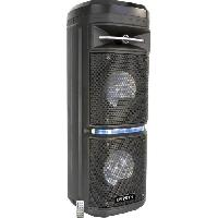 Sono - Dj Enceinte BOOST-COSMO2800 - Bluetooth - Entrée USB et microSD - Eclairage LED - 260W