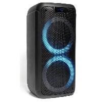 Sono - Dj IBIZA - FREESOUND400 - Enceinte active autonome 400W avec Bluetooth. USB. Micro-SD et télécommande
