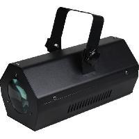 Sono - Dj IBIZA LCM003LED-BL Effet de lumiere Moonflower a LED RGBAW - Noir