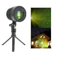 Sono - Dj IBIZA LZR-RGOUTDOOR -  Laser multipoints IP44 pour extérieur rouge & vert avec trépied et télécommande