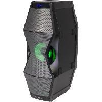 Sono - Dj IBIZA SPLBOX450 - Enceinte bluetooth a effets de lumiere a LED - Tuner FM - Ports USB et SD - Entrée AUX