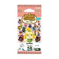 Sortie Carte De Jeu Multimedia Paquet de 3 cartes Animal Crossing Serie 4 - Nintendo
