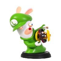 Sortie Figurine De Jeu Figurine Mario + The Lapins Cretins Kingdom Battle - Luigi 15cm