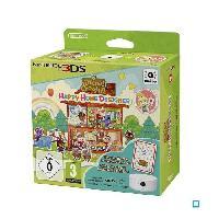Sortie Jeux 3ds Animal Crossing Happy Home Designer 3DS + Lecteur NFC + 1 carte amiibo Animal Crossing HHD