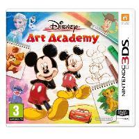Sortie Jeux 3ds Disney Art Academy Jeu 3DS