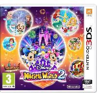 Sortie Jeux 3ds Disney Magical World 2 Jeu 3DS