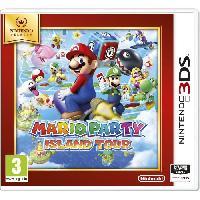 Sortie Jeux 3ds Mario Party Island Tour Jeu Select 3DS