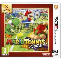 Sortie Jeux 3ds Mario Tennis Open 2 Jeu Selects 3DS