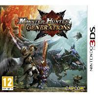 Sortie Jeux 3ds Monster Hunter Generations Jeu 3DS