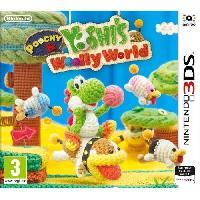 Sortie Jeux 3ds Poochy et Yoshi's Woolly World Jeu 3DS