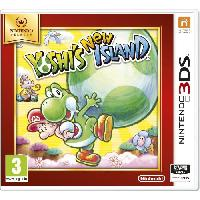 Sortie Jeux 3ds Yoshi's New Island Jeu Selects 3DS - Nintendo