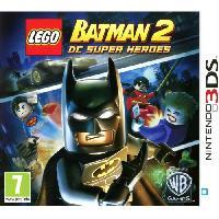 Sortie Jeux New 3ds - 3ds Xl LEGO BATMAN 2 Jeu console 3DS