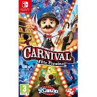 Sortie Jeux Nintendo Switch Carnival Fete Foraine Jeu Switch